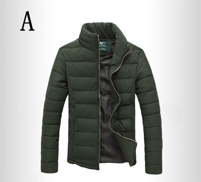 2016/de los hombres de invierno cálido downs chaqueta de algodón de la marca bordado hombres abajo parka chaqueta de la capa de impresión con capucha de la moda 02