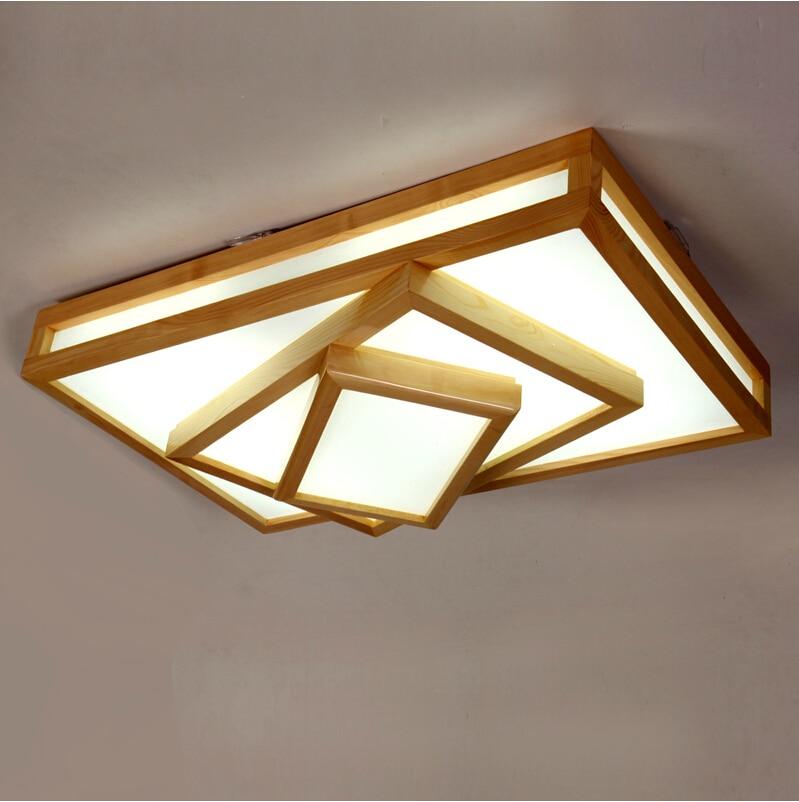 Fashion rectangular ceiling lamps led high power led lamp for Led lights for high ceilings