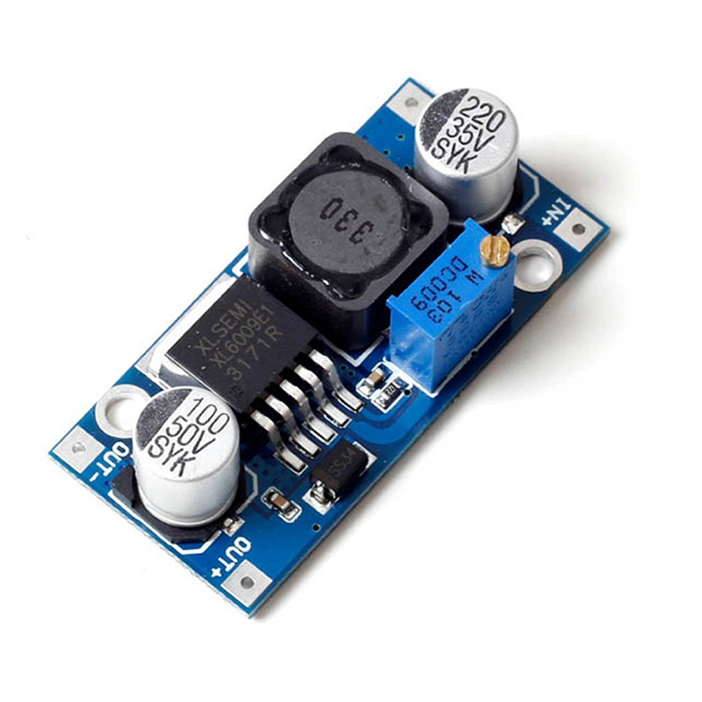 3-32V to 5-35V DC-DC Boost Module Output Voltage Adjustable Step up Boost Power Converter Circuit Board 400KHz Big Current