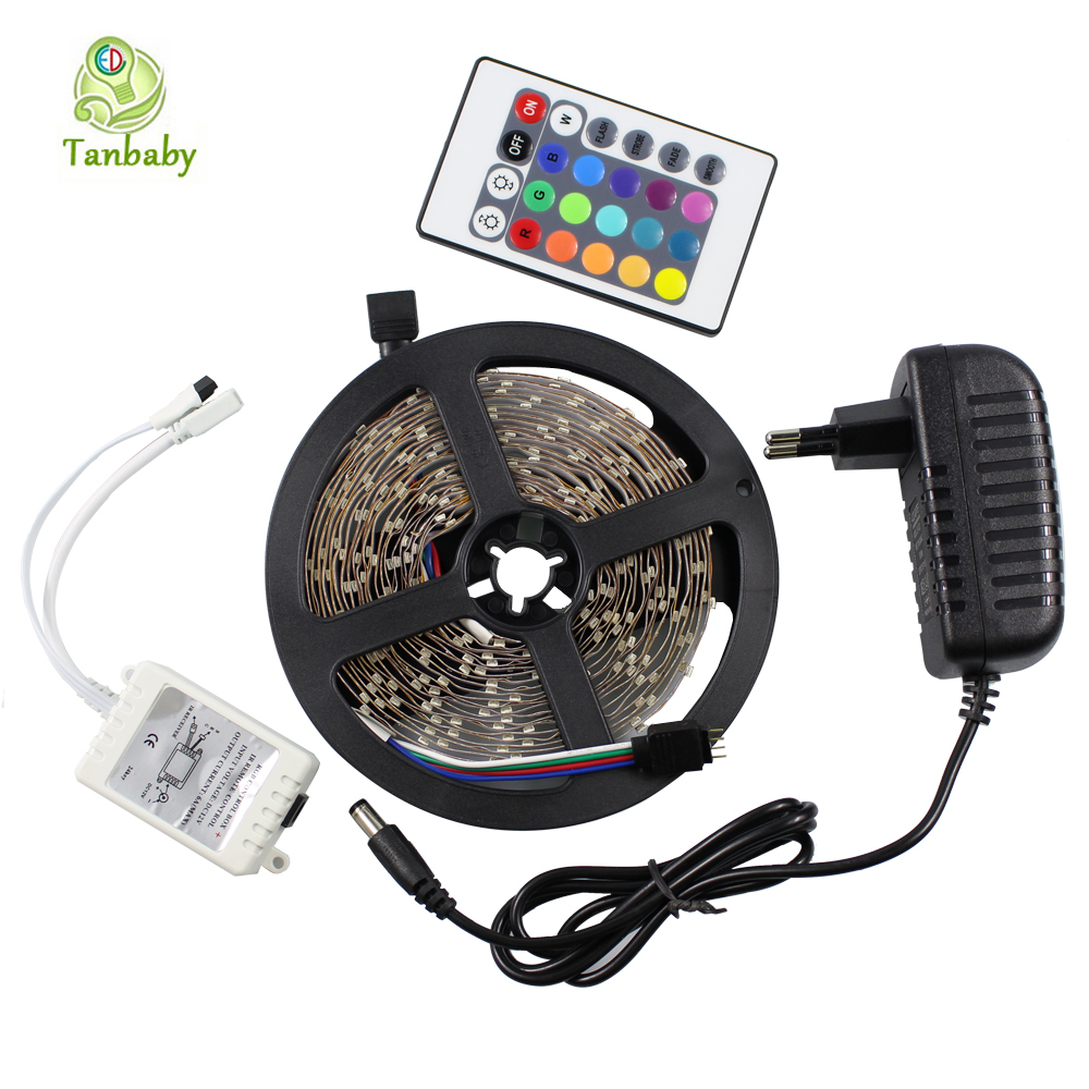 Tanbaby dc12v led strip 3528smd 5m 300led led flexible ribbon tape tanbaby dc12v led strip 3528smd 5m 300led led flexible ribbon tape rgbwhitered 24w power adapter in led strips from lights lighting on aliexpress aloadofball