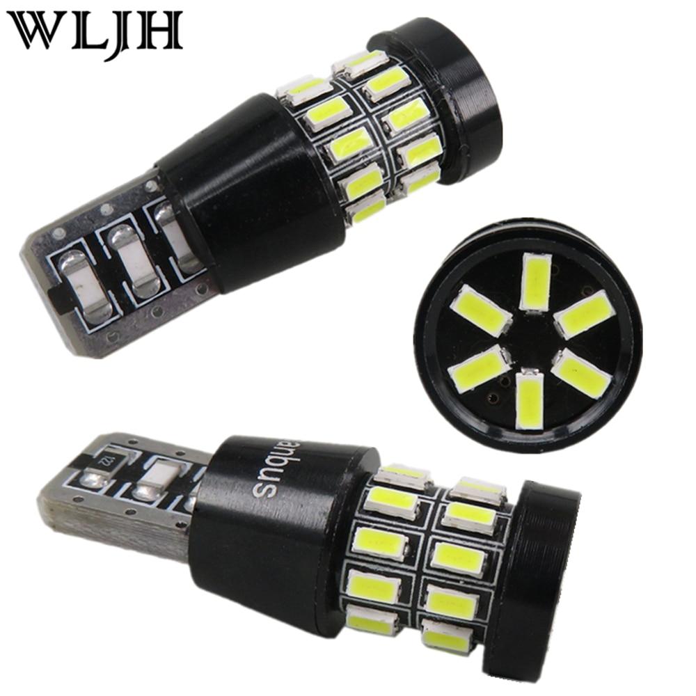 2pcs t10 w5w led bombillas light lamp libre de errores - Bombilla de led ...