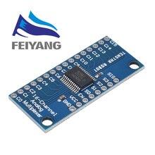 100 Uds Electrónica Inteligente CD74HC4067 16 analógico de canal multiplexor Digital Módulo de circuito impreso