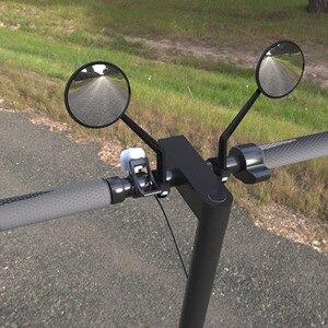 Image 5 - Xiaomi scooter elétrico espelho retrovisor mijia scooter elétrico espelho retrovisor para xiaomi m365 e es1 scooter elétrico
