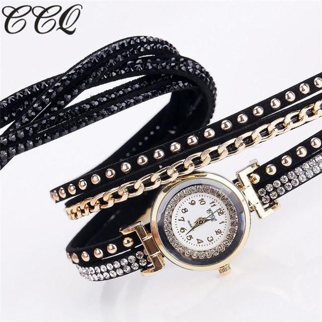 #5001 Leisure Fashion High Quality Woman Watch CCQ Women Fashion Casual Analog Q
