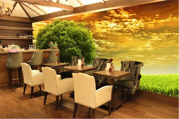 Custom photo 3d wallpaper Non-woven mural wall sticker The big tree on the grass  painting picture 3d wall room murals wallpaper custom photo 3d wallpaper non woven mural wall sticker british architecture painting picture 3d wall room murals wallpaper