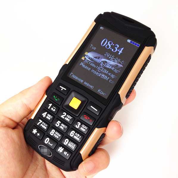 3 Sim Military Mobile M12 CDMA GSM Waterproof Shockproof Dustproof Cell Phone HD Screen Russian Multi