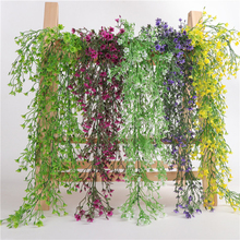 79cm Simulation Vine Hanging Garland Plant Green Leaves Plants Fake Foliage Flowers Home Decor Artificial Lover