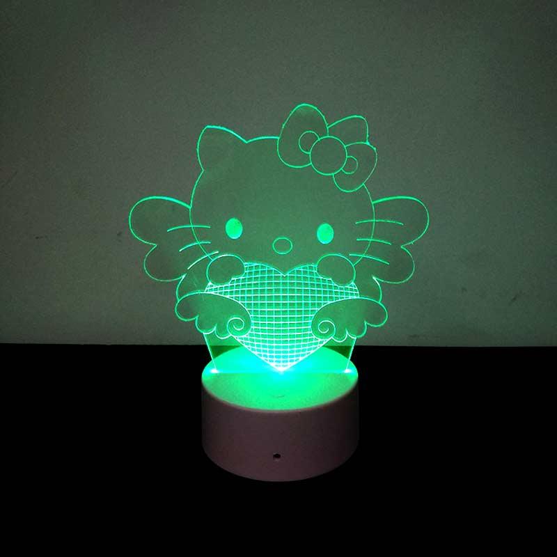 Лампы friendship светящиеся игрушки 3d визуальное акриловое