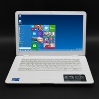 14 Notebook 8GB RAM 750GB HDD Windows10 Fast CPU Intel Business Student PC White WIFI Arabic AZERTY Spanish Russian Keyboard