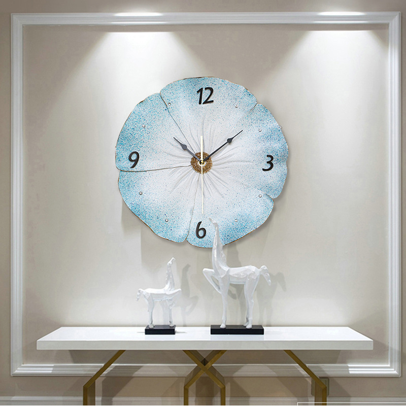 Three Dimensional Embossed Home Wall Clock Modern Design