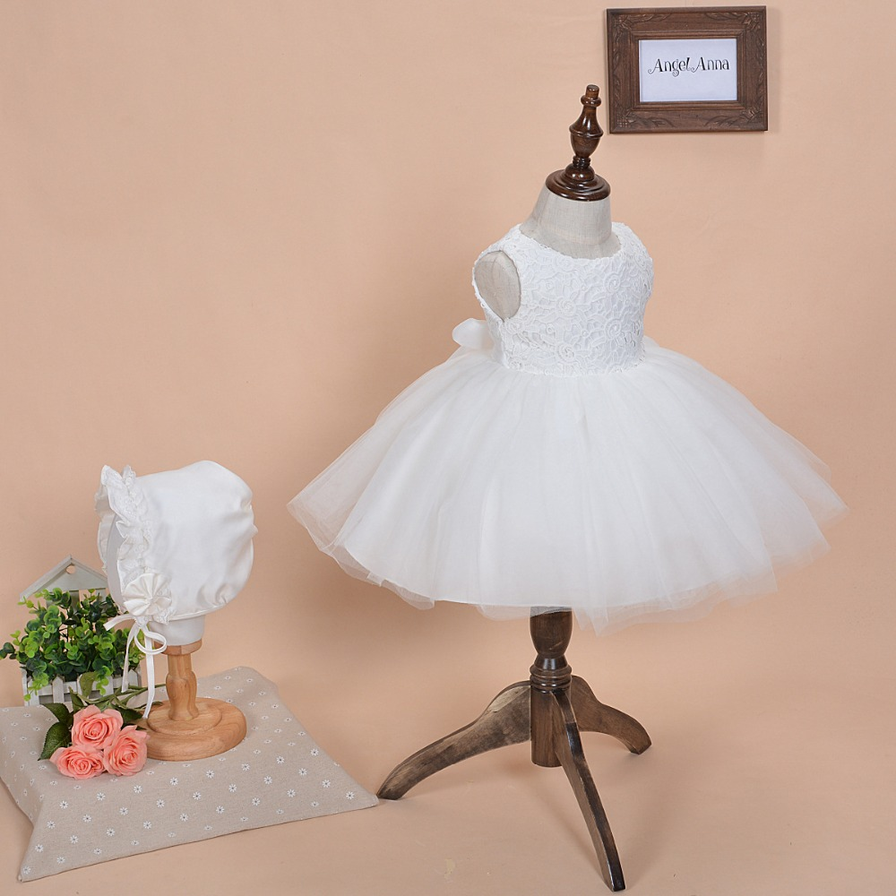 New 2016 Baby Girl Dresses tutu dress 1 year girl baby ...