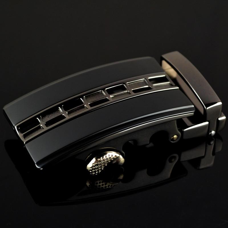 Mens Fashion Leather Belt Automatic Buckle Men Black Belt Designer Popular Business Male Belts Buckle Luxury 3.5cm CE25-0229