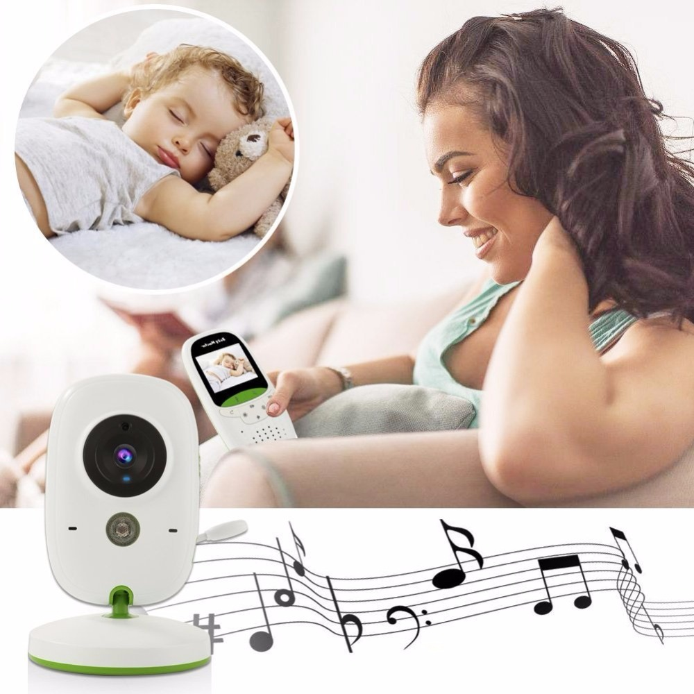 babykam baby monitor video nanny camera 2.0 inch IR Night Vision Temperature Sensor Lullabies Baby Intercom baby video monitor babykam baby phone video baby monitor 2 4 inch lcd ir night vision intercom lullaby temperature monitor baby phone camera nanny