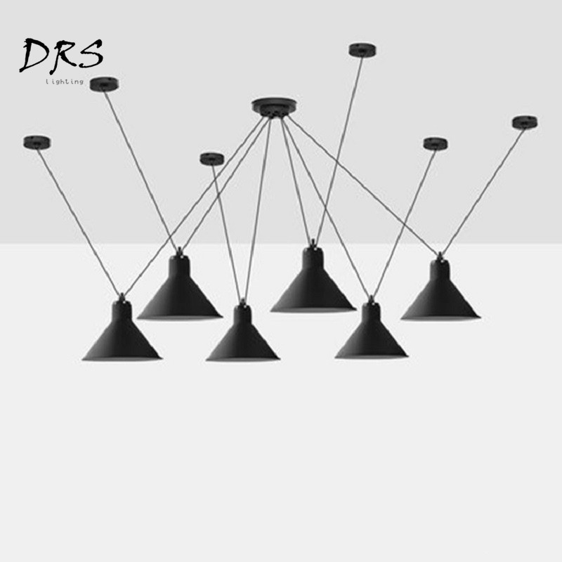 Scandinavian Designer Creative Line Pendant Lamp Living Room Bedroom Modern LED Geometric Modeling Art Pendant Suspension Lights
