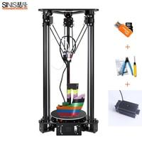 3D Printer For Kossel Linear Delta Large Printing Size LCD Screen 1000MW Laser Engraving 3D Printer DIY Kit EU/UK/US/AU Plug