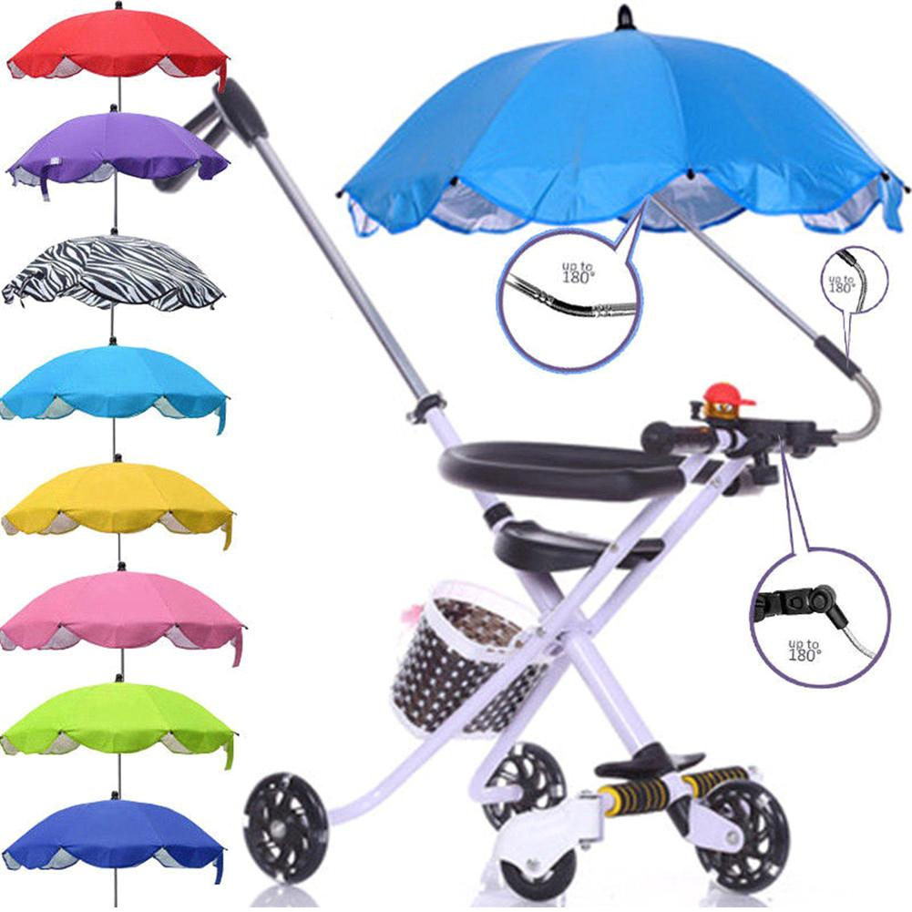 Kids Baby Unisex Sun Umbrella Parasol Buggy Pushchair Pram Stroller Shade Canopy Baby Stroller Accessories Rain Covers Grade Products According To Quality Home