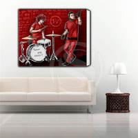 Benutzerdefinierte Twenty One Piloten Klassische Plakat-druck auf Leinwand, Home Decoration Eingerahmt wandkunst, bereit zu hängen Mehr Größe SQ0626-yu77