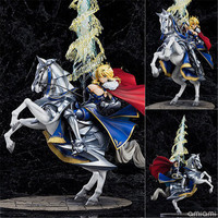 Anime FGO Fate/stay night Saber Lancer Altria Pendragon Saber.Abyss Altria kurodragon Excalibur White horse knight Figure Toy