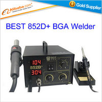 Free Shipping Soldering Station BEST 852D LED Digital Display 2 In 1 Lead Free Soldering Machine