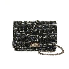 b308d4e73f516 Luxus Frauen Handtaschen Geldbörse Weben crossbody-tasche Frauen Tasche  Mode Designer Marke Damen Kette Schulter Messenger Tasch.