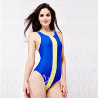 JOB Women One Piece Swimsuit Competitive Swimming Arena Swimwear Sport Suit Women Racing Swimming Suit Girls