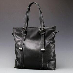 Fashion Men Messenger Bags Full Grain He