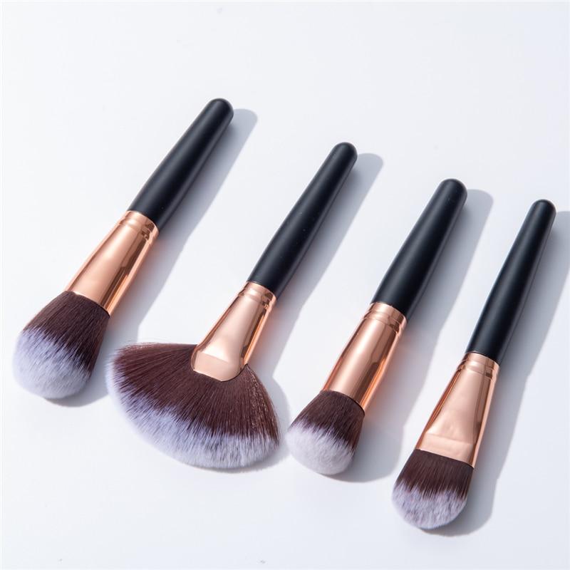 Bbl 1 Piece Wooden Handle Top Makeup Brushes Powder Blush