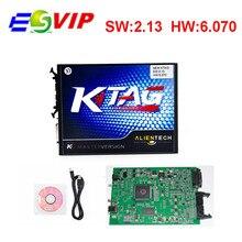 Top selling KTAG V2.13 Unlimited Version High Quality K TAG Master ECU Programming Tool K-TAG Hardware V6.070 KESS V2 FW4.036