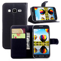 Pu leather wallet case para samsung galaxy s6810 s6310 i8552 G3502 G3812 G3815 i8730 S5310 S7262 S7580 G7508Q G110H G386T G3608