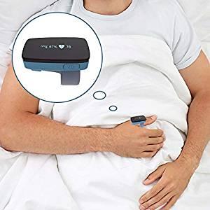 Sono Alarme Do Monitor De Oxigênio para a Apnéia Do Sono-Substituir O Oxímetro de Pulso Da Ponta Do Dedo para a Máquina De CPAP Relatório App