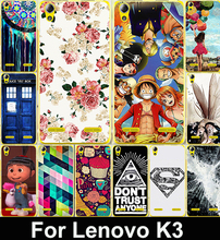 Cartoon Soft TPU Phone Cases For Lenovo K3 A6000 K30 T 5 0 inch Lemon K3