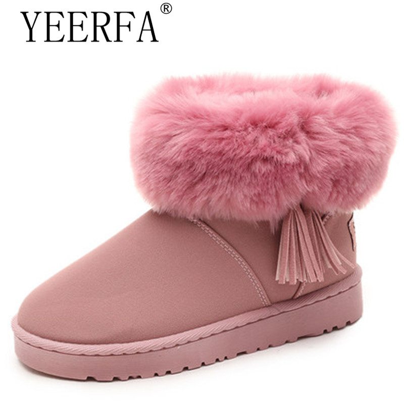 winter waterproof snow boots women platform warm plush ankle boots pu leather flat heel girls cotton school shoes eu size 36-40 pu leather martins women boots snow boots military girls for casual walking shoes winter femme bota 2017 7687