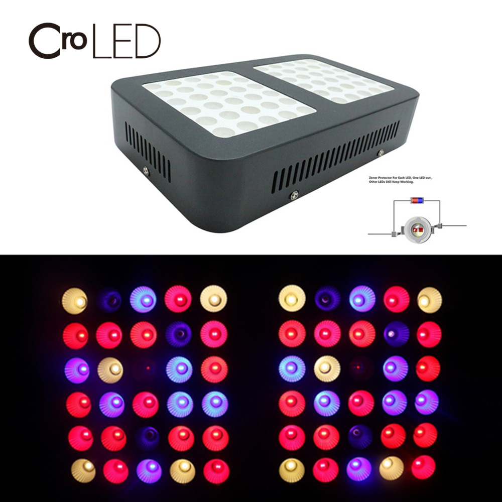 600W LED Grow Light Panel Hydro Full Spectrum Hydroponic Veg Bloom Plant Indoor