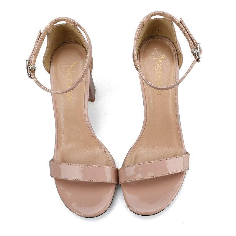 2017 Ankle Strap High Heels Sandals Women Sandals Summer Shoes Women High Heels Party Dress Sexy Sandals Big Size 42 lyc1-q