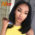 Straight Short Human Hair Wigs Glueless Bob Lace Front Wigs U Part Human Hair Wigs Full Lace Human Hair Wigs With Baby Hair