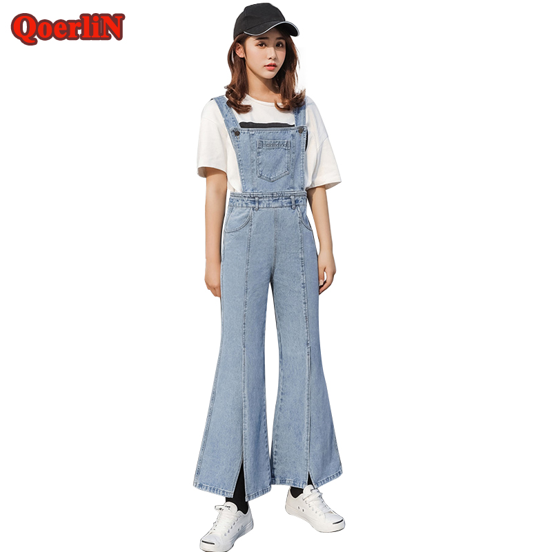 bf893969b39a QoerliN Fashion Jeans Jumpsuit Women 2018 Vintage Fashion .