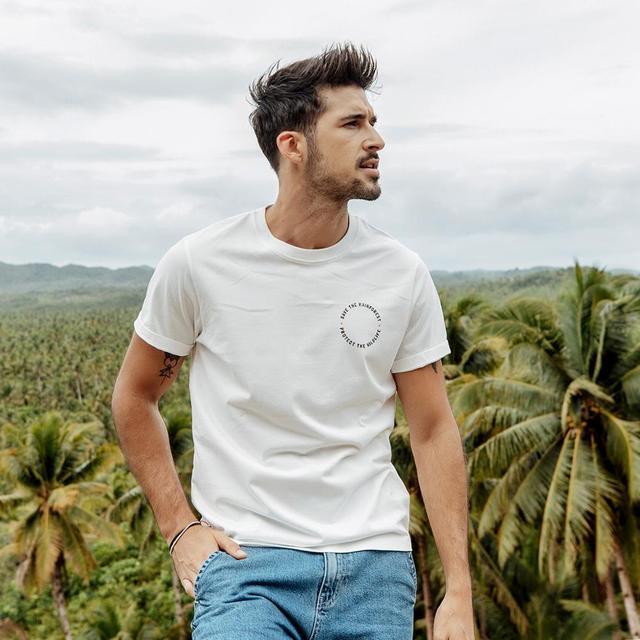 Men's Graphic T-Shirts Casual Slim Cartoon Printed Streetwear