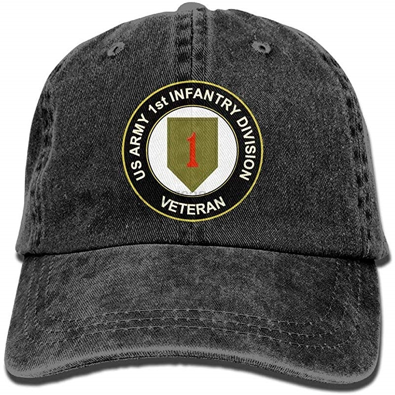1st Aviation Battalion Divisional W SVC Ribbon Unisex Adult Hats Classic Baseball Caps Peaked Cap