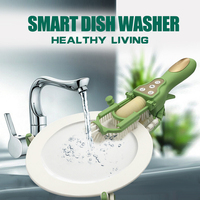 Smart dishwasher portable kitchen to clean dish intelligent electric dish brush free hands automatic Handheld Dishwasher