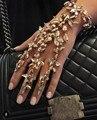Za 2017 Punk Gold Ankle bracelet bangle Body Mermaid Jewelry Boho Crystal Bracelet Anklets Beach Accessories Anklet for Women