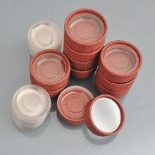 100pcs wholesale false eyelash box packaging lash boxes custom your logo free fake 3D mink eyelashes case round empty faux cils