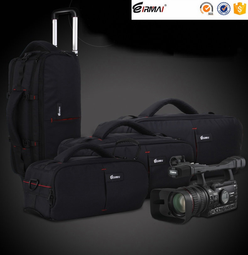 Professional EIRMAI Camera Bag DSLR Waterproof Backpack Capacity 1 DSLR 5 Lenses Accessories laptop Tripod fly leaf camera bag backpack anti theft camera bag with 15 laptop capacity for dslr slr camera