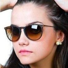 Vintage Retro Mirror Erika Sunglasses Women Brand Designer Cat Eye Sun Glasses L