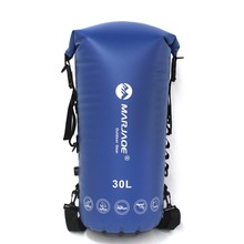 30L PVC Waterproof Impermeable Dry Swimming Bag Backpack Ocean Pack For Water Proof River Trekking Tourism Swim Bag Backpack facecozy swimming river trekking dry bags waterproof pvc ocean pack 2l 30l multifunctional outdoor drifting beach backpack