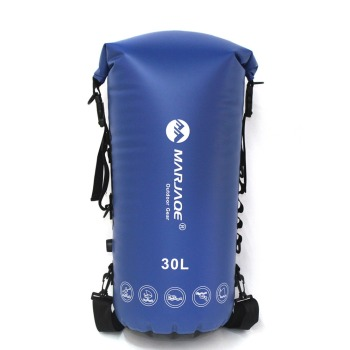 30L PVC Waterproof Impermeable Dry Swimming Bag Backpack Ocean Pack For Water Proof River Trekking Tourism Swim Bag Backpack dry bag outdoor drift bag river tracing swimming travel beach snorkeling water proof bag 500d pvc cloth net waterproof backpack