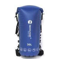 30L PVC Waterproof Impermeable Dry Swimming Bag Backpack Ocean Pack For Water Proof River Trekking Tourism Swim Bag Backpack