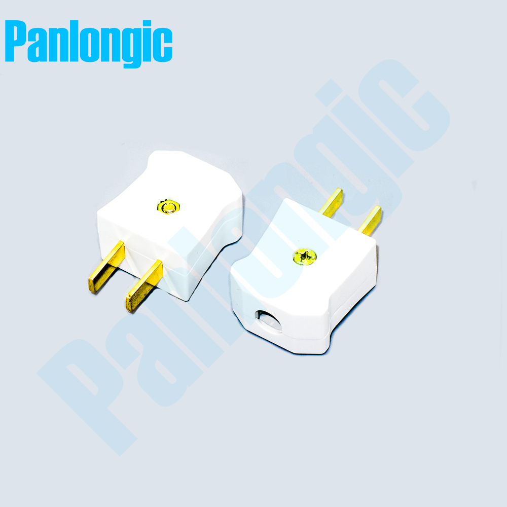 medium resolution of 2pcs two pole plug home plug 10a 250v 2 pole plug wiring plug switch socket electrical ac power adaptor socket home wiring male in electrical sockets from