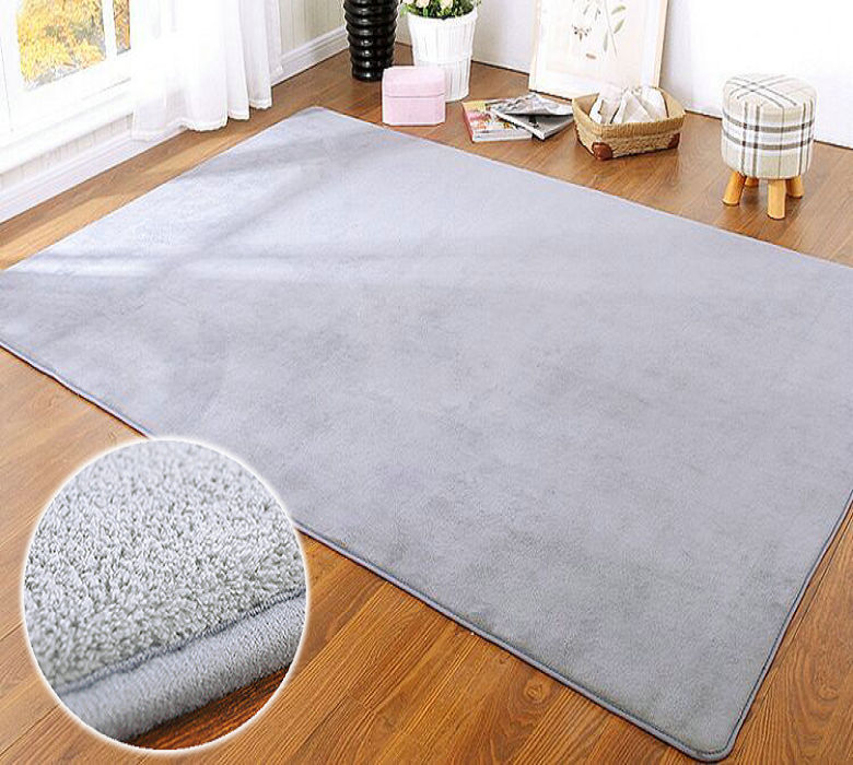 Infant Shining 1.5cm Carpet Mat Pad Bedroom Mat With Thick Rectangular  Living Room Table Bed Rug Children Crawling Pad