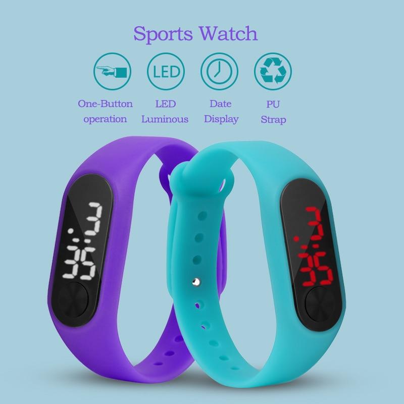 Children's Watches LED Digital Wrist Watch Bracelet Kids Outdoor Sports Watch For Boys Girls Electronic Date Clock Saat Relogio все цены