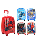 2016 New Hot!! Sale 16 inch egg shaped 18 inch square cute cartoon travel luggage for gilrs boys and children student  trolley
